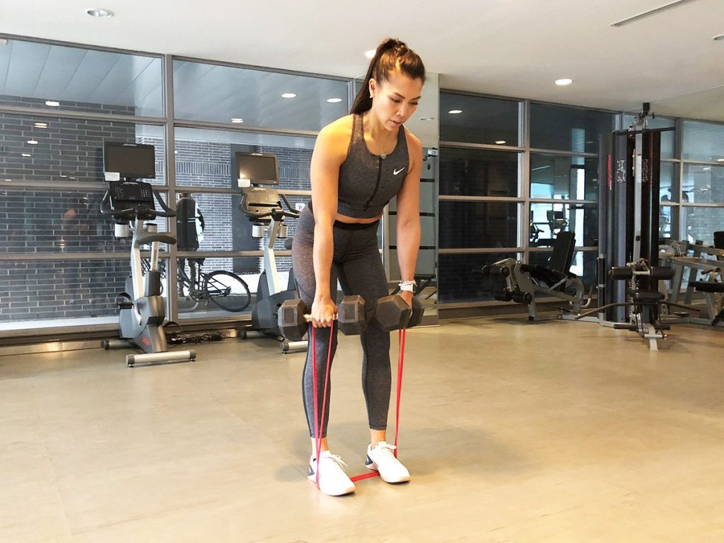 Sculpt rounder glutes with the RDL