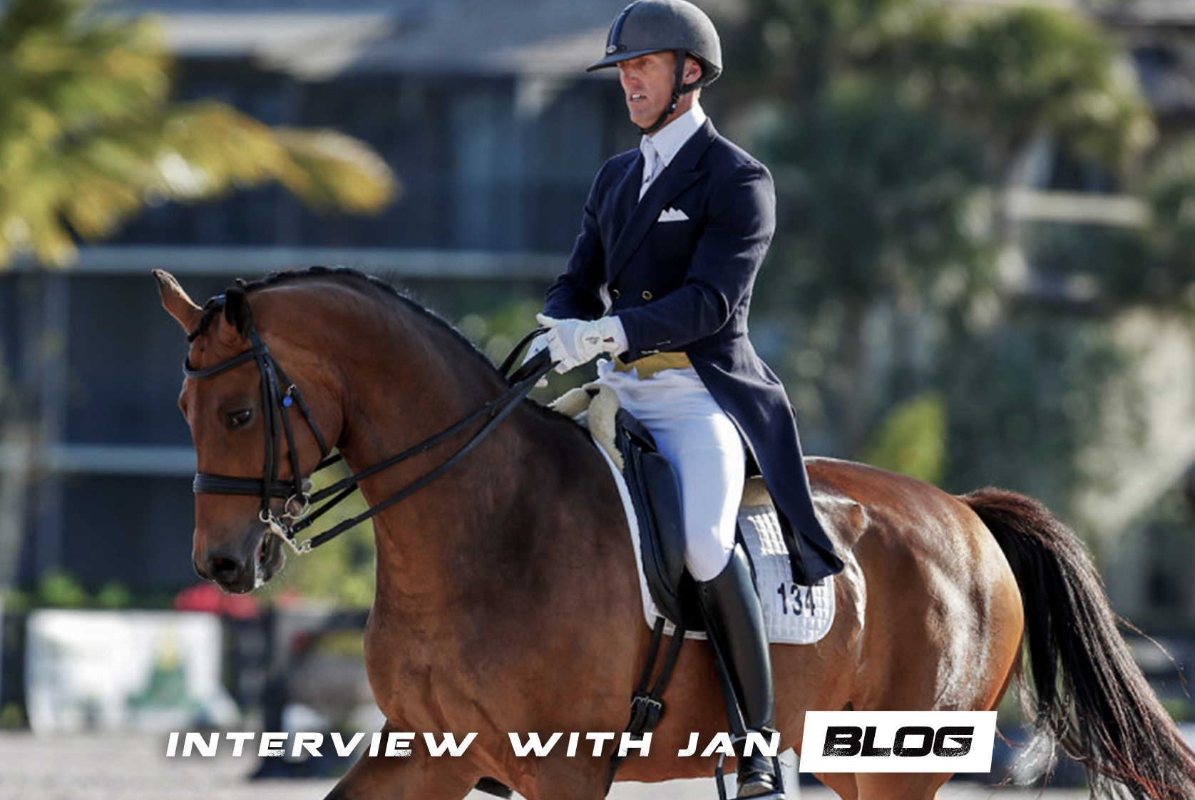 Jan Brons on Dressage and Physical Fitness