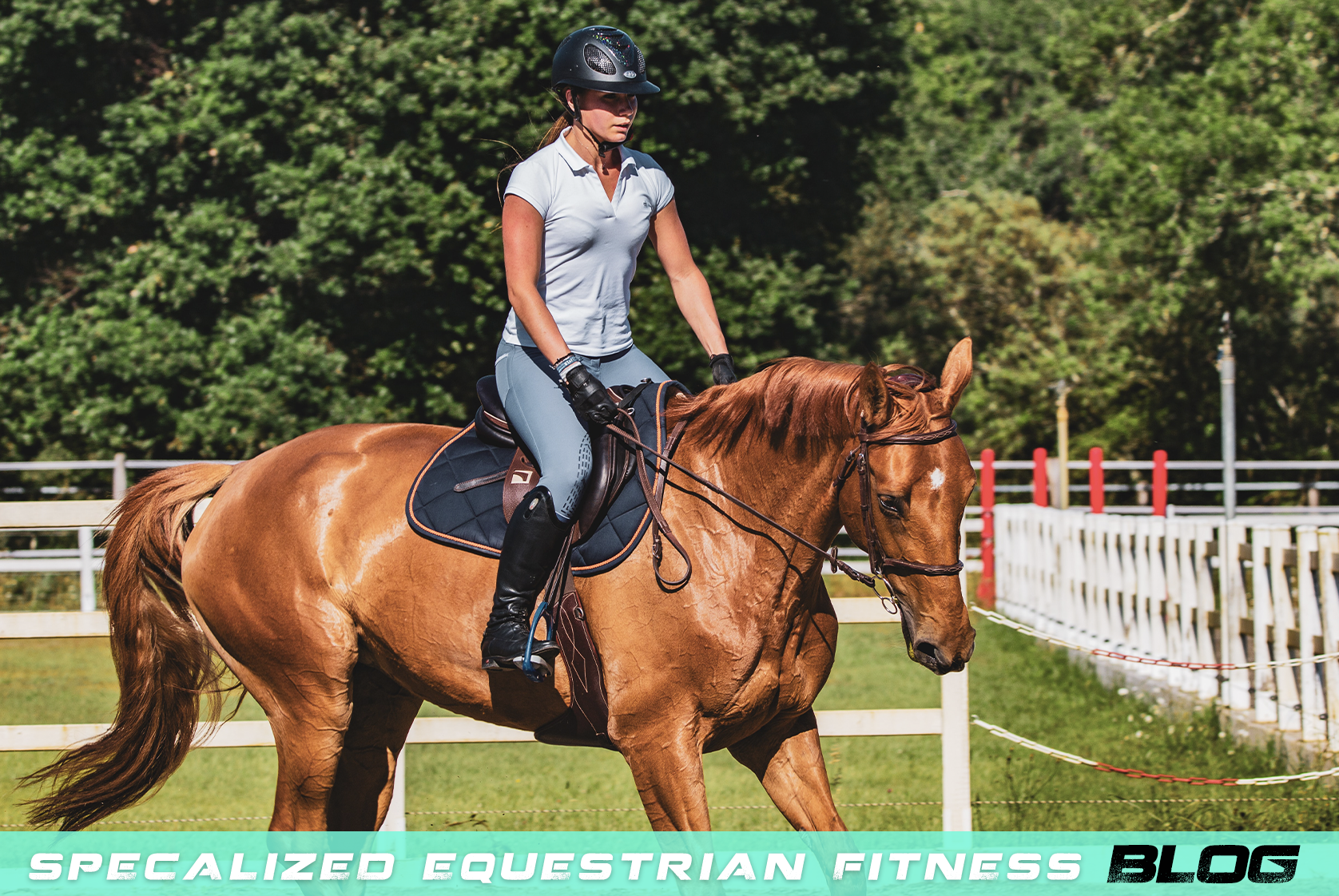 Fit To Ride: Physical Fitness for Equestrian Athletes