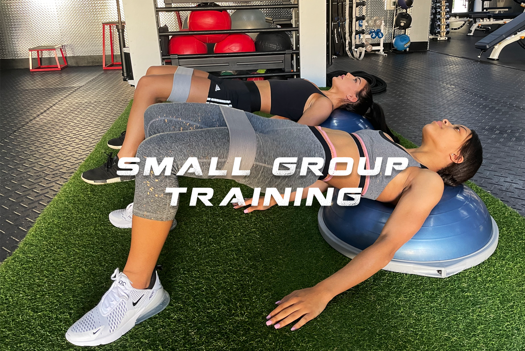 Get The Small Group Training Boost